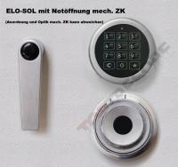 Verschlussvarianten Tresortüre Rostock Stufe B und S2 EN 14450