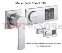 Elektronikschloss Mauer Code Combi B30