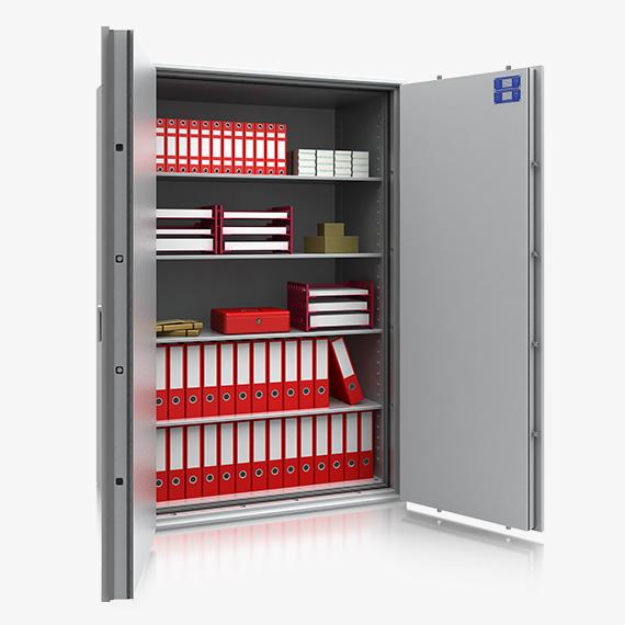 k ln super 44114 wertschutzschrank mit 60min brandschutz s 60 p. Black Bedroom Furniture Sets. Home Design Ideas