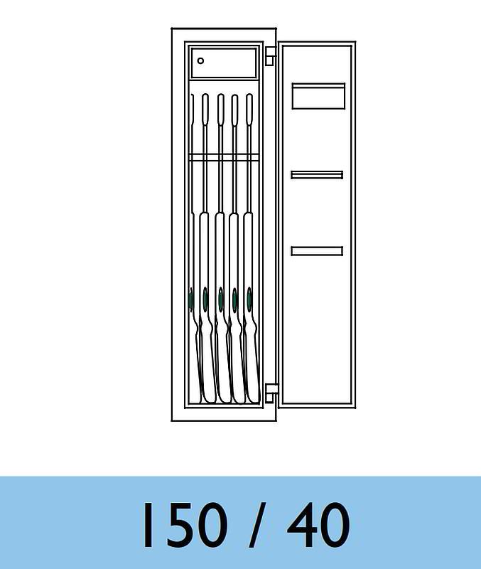 waffenschrank sistec wse 150 40 en 1143 1 klasse 0. Black Bedroom Furniture Sets. Home Design Ideas
